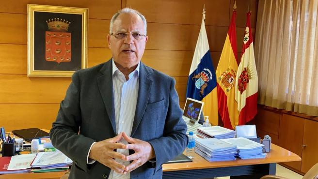 Casimiro Curbelo, presidente del Cabildo de La Gomera