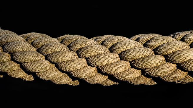 Una cuerda puede ayudar a mantener la forma en casa.