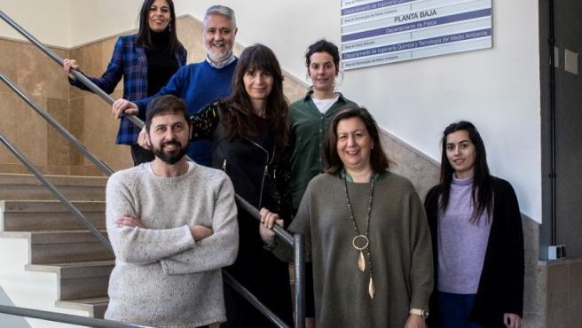 Grupo de investigación de la Universidad de Oviedo 'Nanopartículas, membranas y bioanálisis' (NanoBioMem), que lidera la profesora María Carmen Blanco y que presenta un proyecto para mejorar los test de COVID-19.