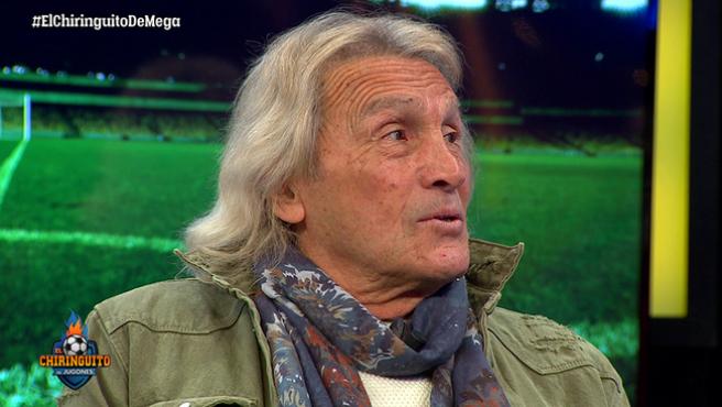 Hugo 'Loco' Gatti, durante un programa de 'El Chiringuito'.