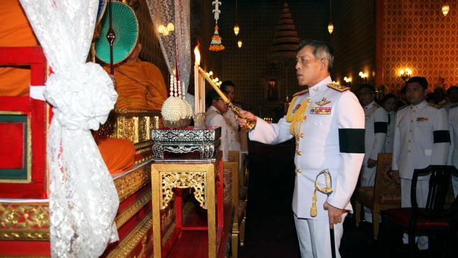 El rey Rama X de Tailandia, en octubre de 2016.