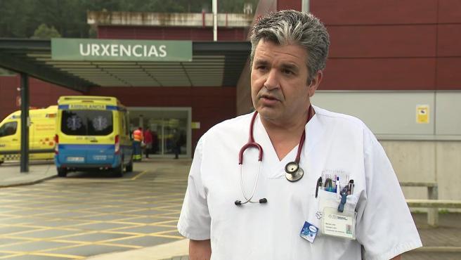 El doctor José Manuel Vázquez Lima, miembro del comité de crisis sanitaria de la Xunta