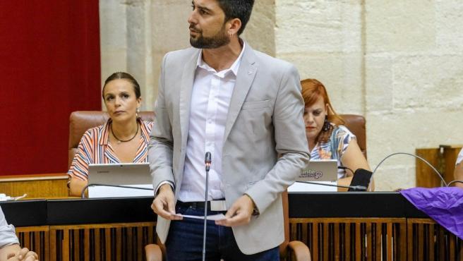 El parlamentario de Adelante Ismael Sánchez