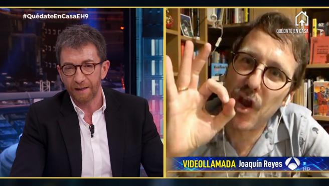 Joaquín Reyes, en 'El hormiguero: Quédate en casa'.