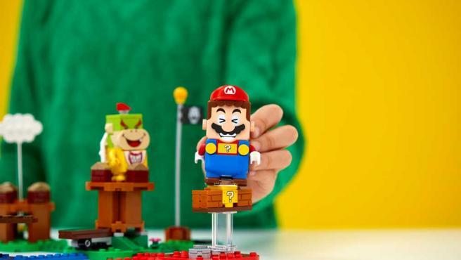 'Super Mario' en la versión creada para LEGO.