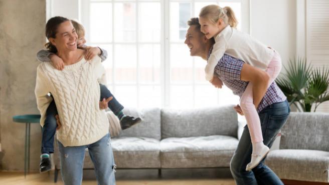 En las yincanas caseras puedes participar pequeños y mayores.