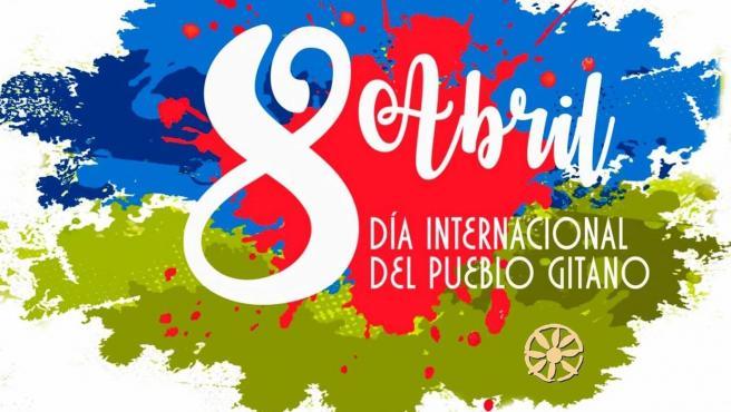 Cartel conmemorativo del Día Internacional del Pueblo Gitano