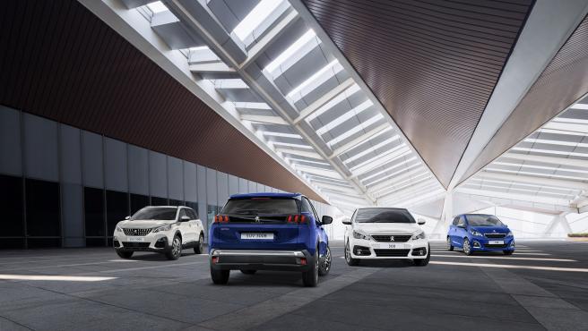 Modelos Peugeot.
