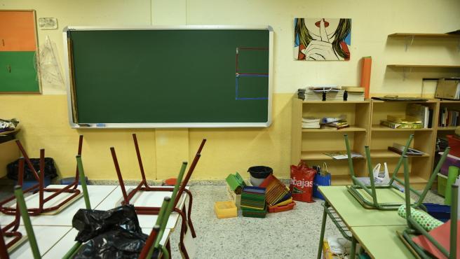 Aula de Infantil del Colegio de Educación Infantil y Primaria (CEIP) 'Joaquín Costa' de Madrid.
