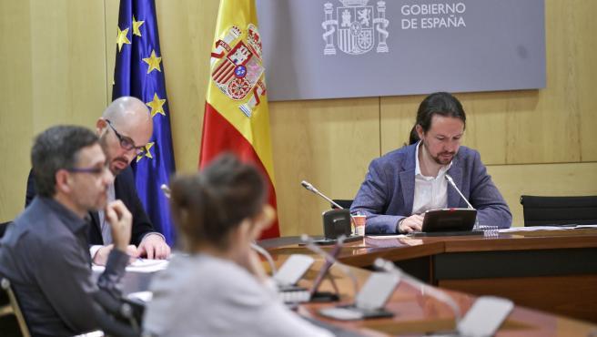 El vicepresidente segundo, Pablo Iglesias.