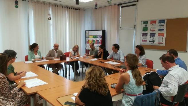 Reunión del consejo rector del Imefe.