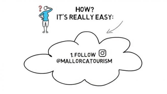 Campaña del Consell de Mallorca para promocionar el turismo a través de Instagram.