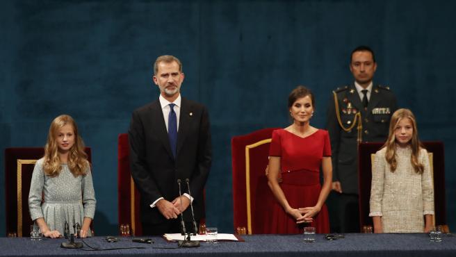 Foto: © DAMIAN ARIENZA, Oviedo, 18 Octubre 2019 ceremonia Premios Princesa de Asturias