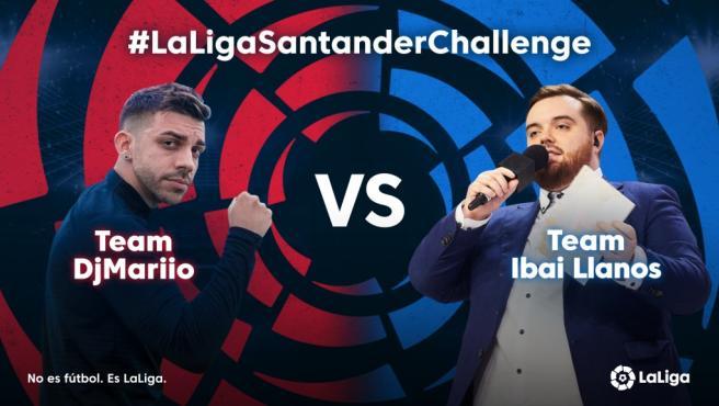 Ibai y DjMario en el nuevo torneo de LaLiga