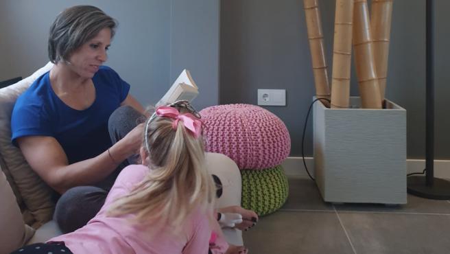 'Teri' Portela disfruta de su familia y la lectura, sus dos grandes pasiones.