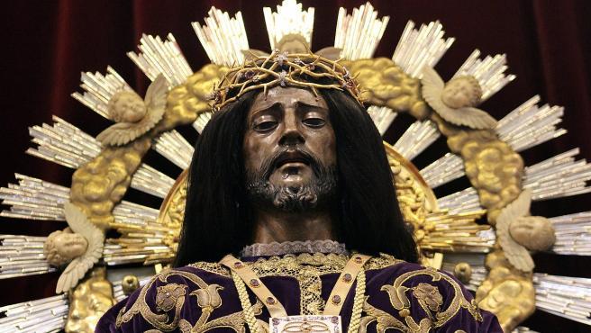 La talla de Jesús de Medinaceli de Madrid en 2019.