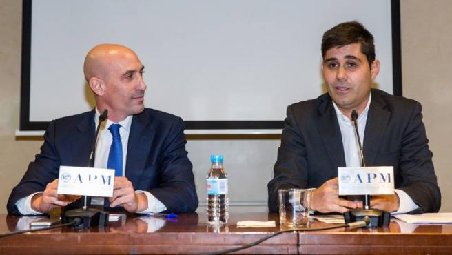 Los presidentes de RFEF y AFE