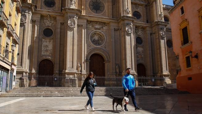 El entorno de la Catedral.