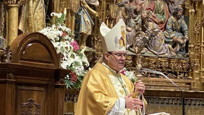 El arzobispo de Toledo, Francisco Cerro Chaves.