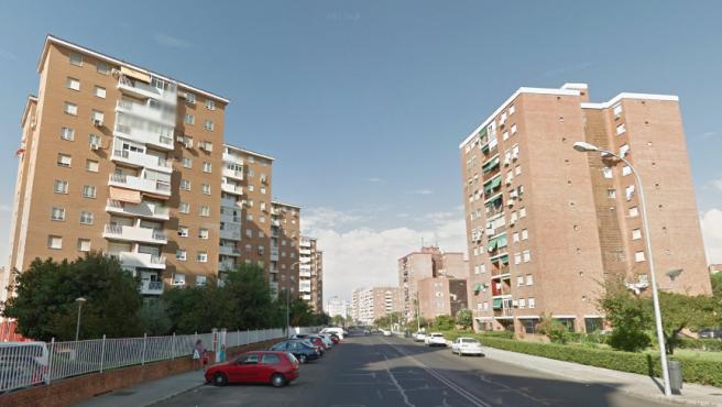 Bloques de viviendas en la avenida del Perú, en Badajoz, en una imagen de archivo.