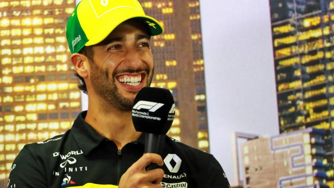 Daniel Ricciardo, en foto de archivo.