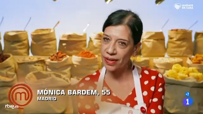 Mónica Bardem, en 'MasterChef 8'.