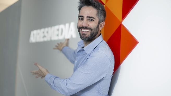 Roberto Leal, en la sede de Atresmedia.