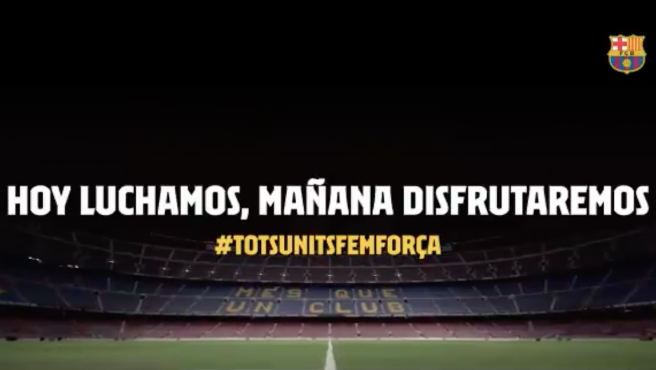 Último vídeo del FC Barcelona