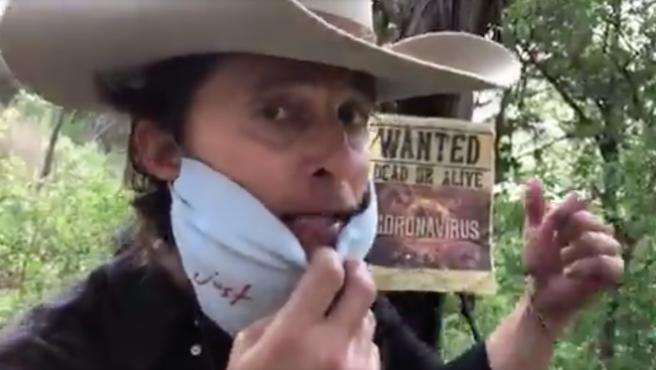 Matthew McConaughey se proclama Bobby Bandito, el cowboy del COVID-19