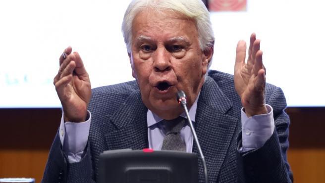 El expresidente del Gobierno Felipe González. El expresidente del Gobierno Felipe González 8/4/2020