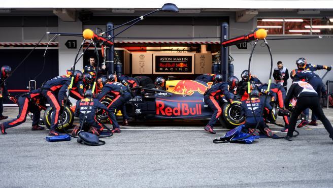 Equipo Red Bull de Fórmula 1.