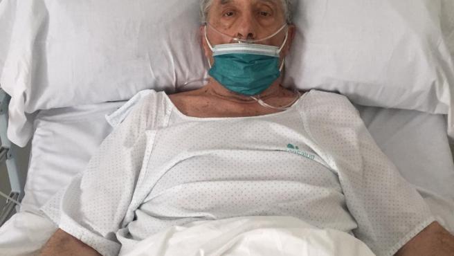 Anrtonio Borrego se recupera del Covid-19