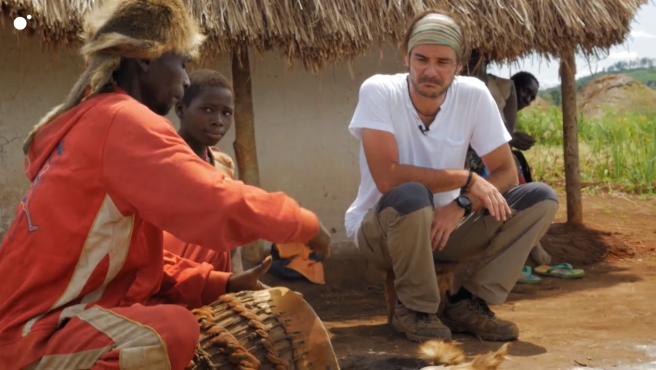 José Antonio Ruiz, en 'Mzungu: Operación Congo'.