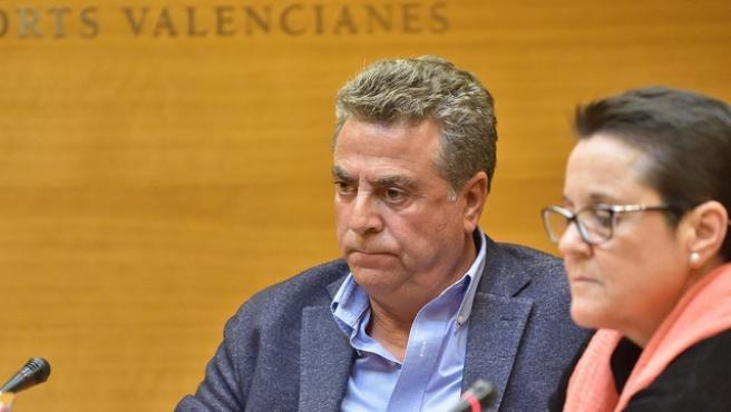 L'empresari Enrique Ortiz en una imatge d'arxiu en Els Corts Valencianes