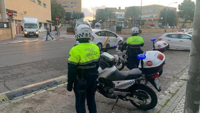Operativo de la Policía Local de Sevilla
