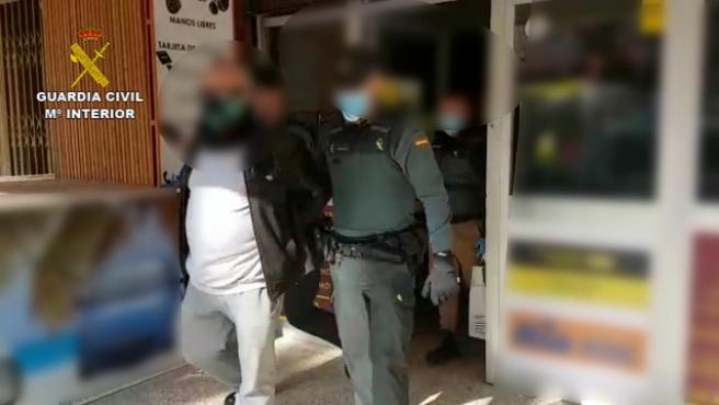 El detenido por falsificar denuncias