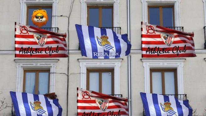 Foto que ilustra la iniciativa impulsada en redes sociales para la final de Copa.