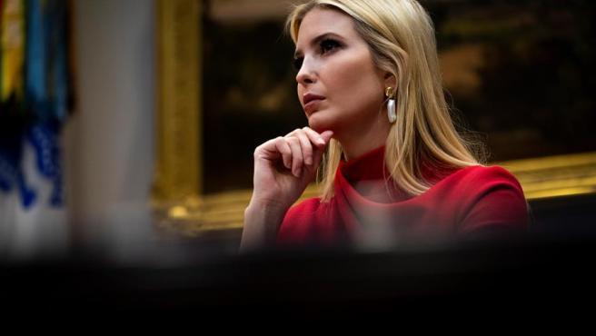 Ivanka Trump, durante una reunión en la Casa Blanca.