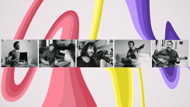 Fotograma del videoclip 'La buena sombra', de Izal.