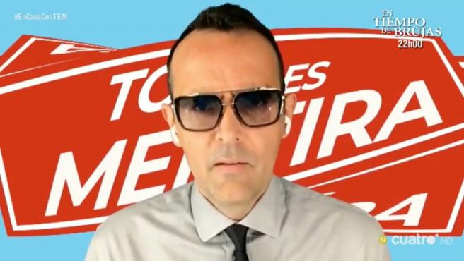 Risto Mejide, en 'Todo es mentira' (Cuatro).