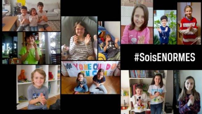 'Sois enormes', el vídeo en homenaje a los padres y madres durante la cuarentena.