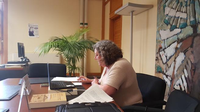 La directora general de Justicia del Gobierno de Aragón, María Ángeles Júlvez