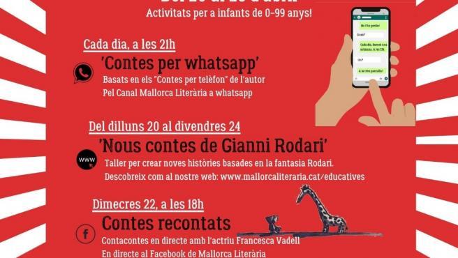 Agenda de Sant Jordi del Consell de Mallorca.