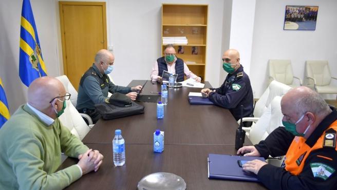 Comisión de seguimiento por el coronavirus en Alhaurín de la Torre