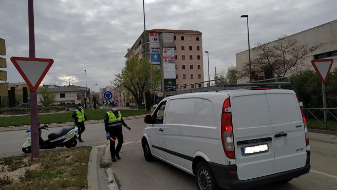 Control Policía Cuenca