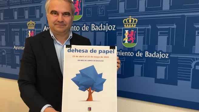 El alcalde de Badajoz, Francisco Javier Fragoso