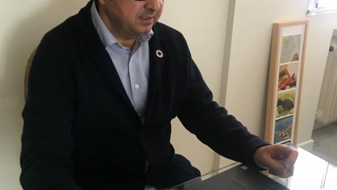 El director general de Comercio de Asturias, Julio González Zapico.