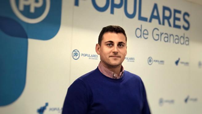El parlamentario andaluz del PP por Granada, Rafael Caracuel, en imagen de archivo
