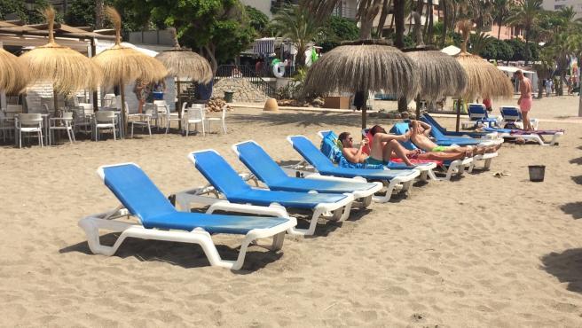 Hamacas en Marbella