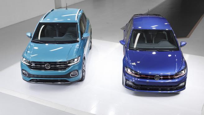Imagen de los vehículos fabricados en la planta de Navarra.